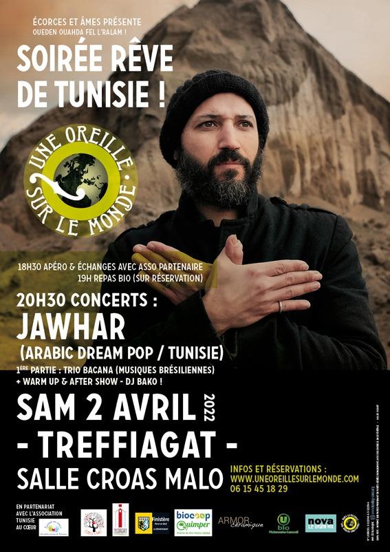Une Oreille sur le Monde - Soirée Rêve de Tunisie !